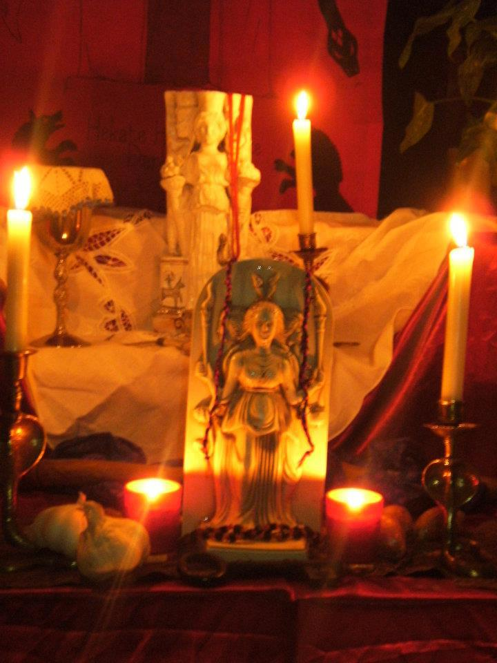 Shrine to the Goddess Hekate / Hecate from the Sanctuary of Hekate Soteira, Sorita d'Este