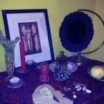 Hekate Psicopompos shrine by Maeve Madrigal, CoH devotee.