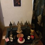 "Devotional shrine by ""I"" CoH devotee, Norway."