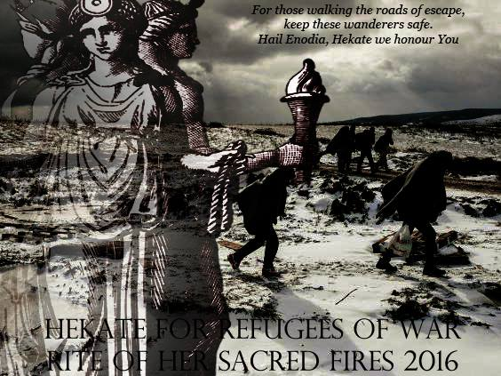 Hekate: Magical Petition for Refugees of War - Rite of Her Sacred Fires 2016 - Covenant of Hekate